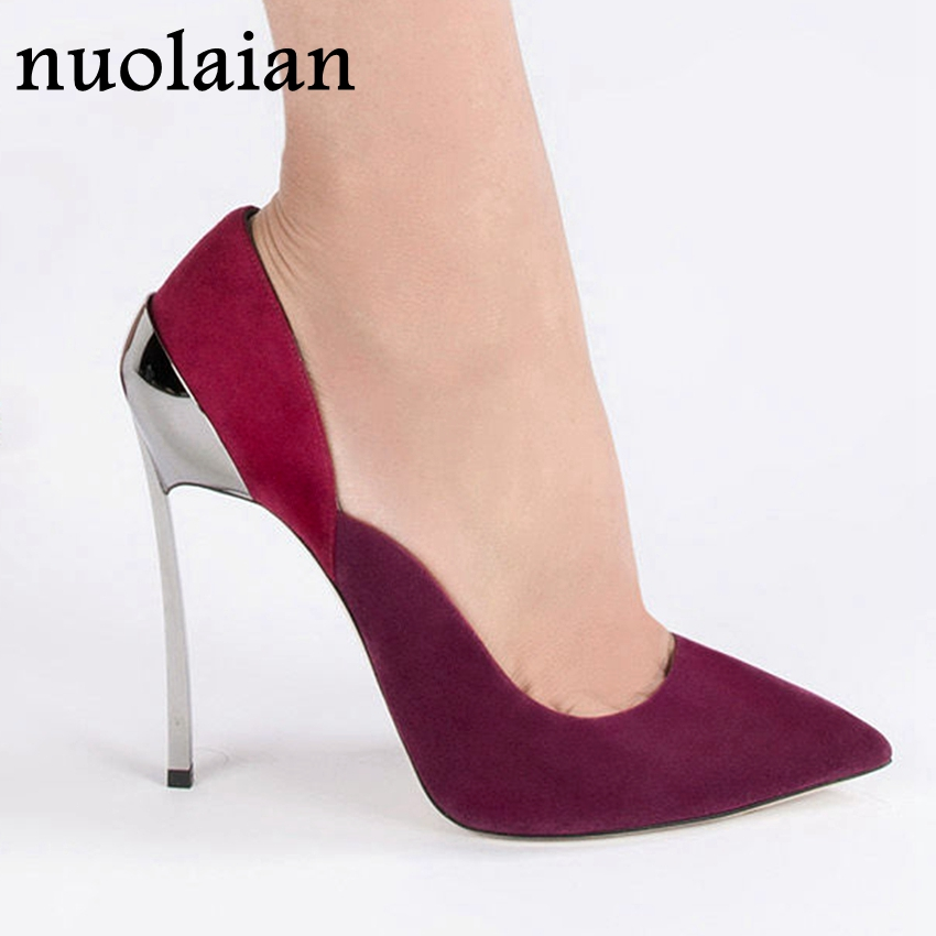 Brand Design Womens High Heels Shallow Pump Shoes Woman Sexy Wedding Pumps Women High Heel Shoes Thin Heels Party Dress Platform efbaba leather velvet women pumps wedge wedding shoes womens heels shallow fashion platform shoes tide wild ladies high heels