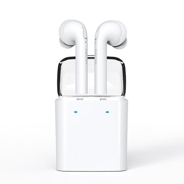 Fones de ouvido bluetooth para iphone 7 7 plus duplo gêmeos com cancelamento de ruído fone de ouvido estéreo bluetooth fone de ouvido fone de ouvido auriculares para iphone 7 plus