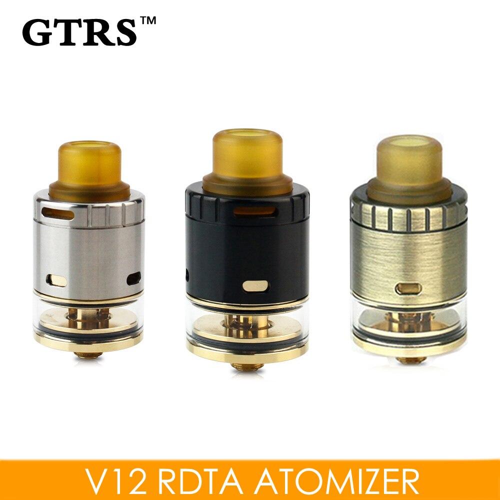 Originele GTRS V12 RDTA Verstuiver 2 ml Tank e-sigaret 510 RTA - Elektronische sigaretten
