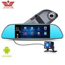 ANSTAR CAR DVR Car Camera Dash Cam Video Rear View Mirror Android GPS Navigation Dual Lens Camera Parking Assistance For Cars