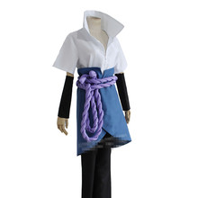 Naruto Uchiha Sasuke Cosplay Costume set