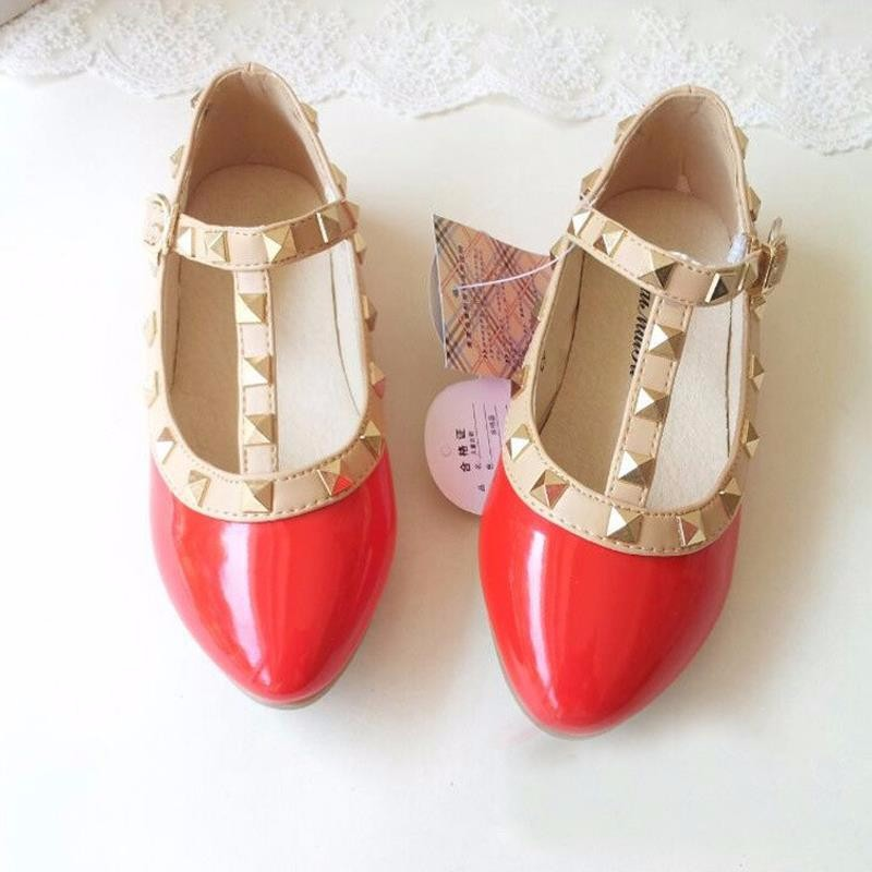 spring-and-summer-PU-leather-princess-shoes-female-child-sandals-cutout-child-single-shoes-breathable-rivet (3)