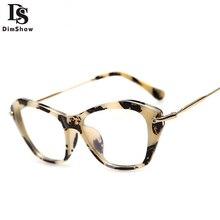 Dimshow Nova Moda Mulher Clássico Optical Óculos De Armação Mulheres Óculos Olho de Gato Do Vintage Óculos de Armação Oculos Gafas