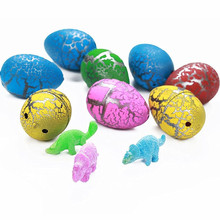Cute Magic Hatching Growing Dinosaur Eggs Add Water Growing Dinosaur Novelty Gag Toys For Child Kids boy Toys Gifts growing dinosaur eggs hatching toys water kids educational novelty