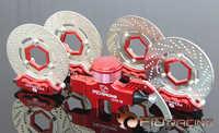 FID 4 wheels hydraulic brake set for ROVAN ROFUN KM HPI Baja 5B 5T 5SC