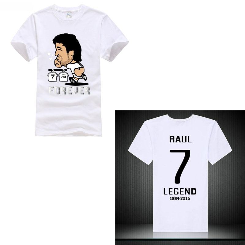 New 2018 tShirt Club champios footballer player Benzema Isco zidane Ramos Bale ronaldo M ...