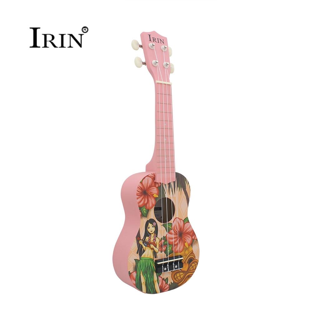 Soprano Ukulele 21 inch Ukelele 4 Strings Basswood Fingerboard Acoustic Guitar Music Instrument Hawaiian Small Guitarra Cheap