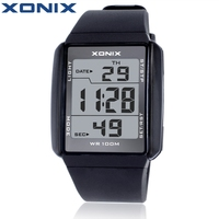 Hot Xonix Fashion Lovers Sports Watches Waterproof 100M Men And Women Digital Watch Swimming Diving Hand