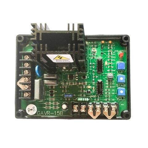 gavr 15a 15a universal brushless gerador avr estabilizador de tensao regulador de tensao automatica azul