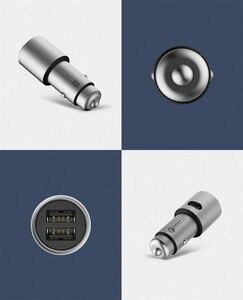 Image 5 - Original Xiaomi Mi Car Charger QC3.0 X2 Dual USB Quick charge Max 5V/3A 9V/2A 15V/1.5A Metal Style