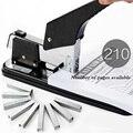 Effectieve grote zware verdikking 0399 nietmachine multifunctionele nietmachine boekbinden machine kantoor dikke boek boekbinden machi