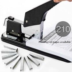 Efficace large heavy duty ispessimento 0399 cucitrice multifunzione cucitrice legatoria macchina ufficio libro di spessore legatoria machi
