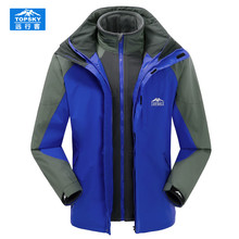 Topsky softshell windproof jacket men&women brand mountain hiking jackets high quality many colors camping hiking jacket