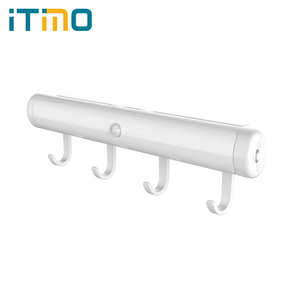 iTimo Rotatable Cabinet Lamp Wireless Motion Sensor Closet Night Light Led Battery Operate Wall Lights Portable Lighting