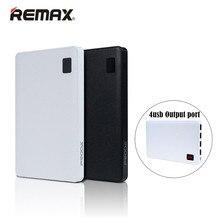 Remax Запасные Аккумуляторы для телефонов 30000 мАч внешний Батарея 4 usb выходы Тетрадь дизайн Универсальный Портативный Зарядное устройство для iPhone Xiaomi Samsung LG