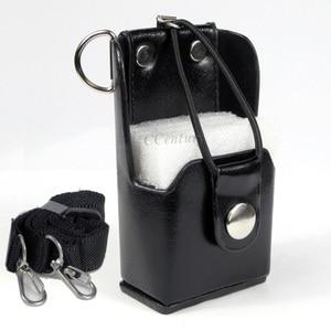Image 1 - XQF Hard Artificial Leather Case Holster+Belt Clip for Motorola Two Way Radio Walkie Talkie GP328+Plus GP388 GP344 GP638+