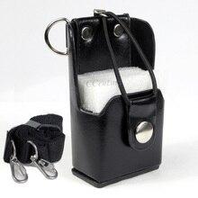 XQF étui rigide en cuir artificiel + pince de ceinture pour Motorola Radio bidirectionnelle talkie walkie GP328 + Plus GP388 GP344 GP638 +