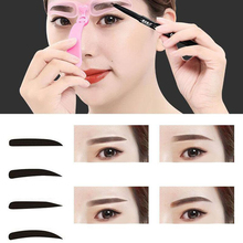 Eyebrow Pencil Stencils Template Shaper Makeup Kit