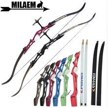 1Set 14-40lbs Archery Recurve Bow 66/68/70 inch Right Hand With Bow Sight And Arrow Rest Outdoor Shooting Accessories archery 66 68 70inch recurve bow draw weight 16 40lbs takedown bow hunting with a set recurve bow sight and arrow rest