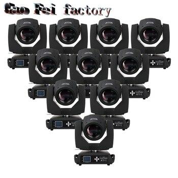цена на 10pcs/lot Beam 230 7r sharpy moving head China light stage light beam 7r moving head beam 230w