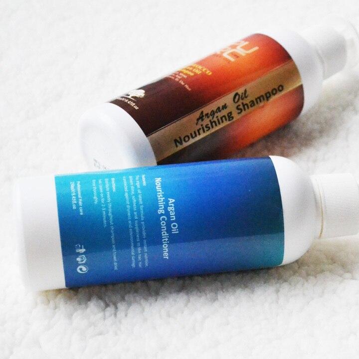 Fas yağı saç şampuanı saç kremi saç maskesi için argan yağı - Saç Bakımı ve Şekillendirme - Fotoğraf 6