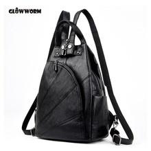 Высокое качество Для женщин Пояса из натуральной кожи Рюкзак многофункциональные сумки для Дамы Подросток Обувь для девочек рюкзаки Малый Mochila Feminina
