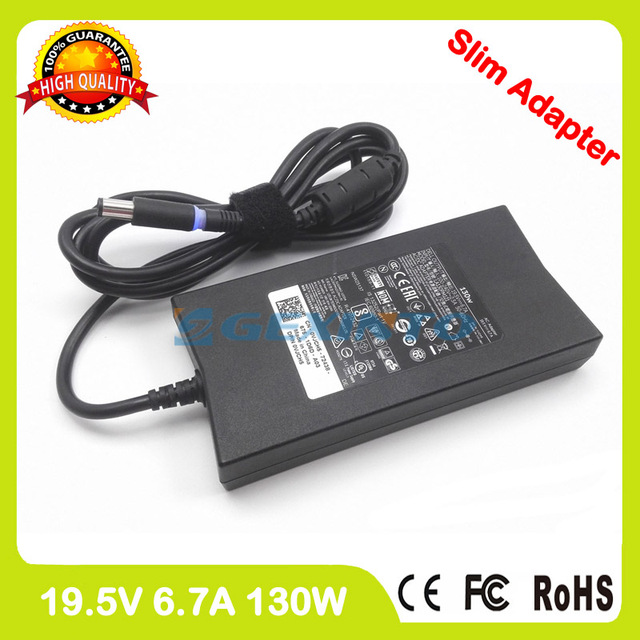 Ac מתאם 19.5 v 6.7A 130 w מחשב נייד מטען עבור Dell Inspiron 15 5576 5577 7557 7559 7566 7567 17R n7110 XPS Gen 2 PA-4E P60F002
