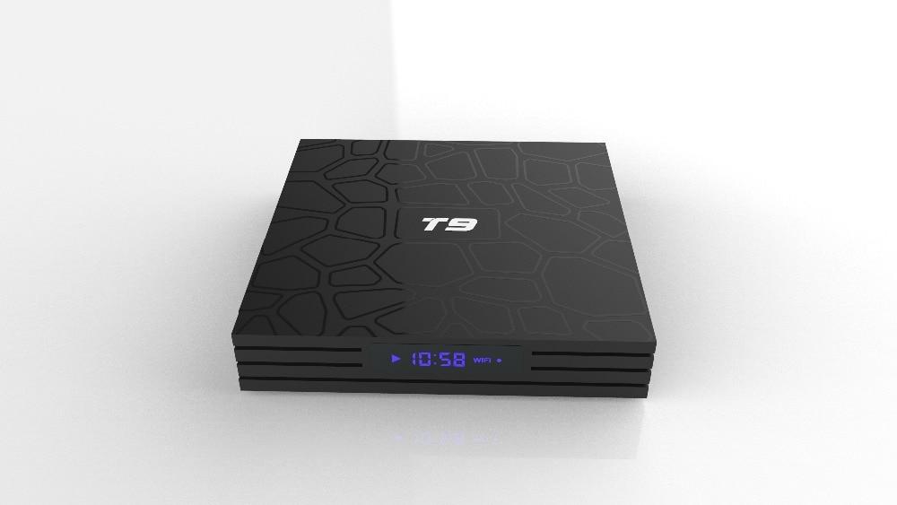 TV Box T9 Android 8.1 Bluetooth Rockchip RK3328 4 GB RAM 32 GB/64 GB 4 K Google Player supporte 2.4 GHz WiFi HD 4 K décodeur intelligent - 4