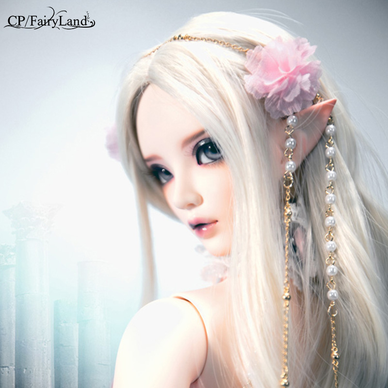 BJD Doll 1 3 Fairyland Feeple65 Chloe fullset suit Girls dollmore supergem dream love clothes wig