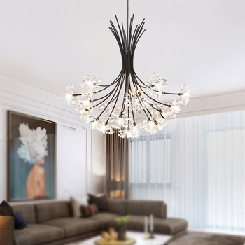 Modern Chandelier Lighting Restaurant Crystal hanging lamp Living Room Bedroom Simple Nordic Style Decor Light Fixture lustre crystal restaurant chandelier rectangular hong kong style nordic postmodern light luxurious atmosphere bedroom living room lamps