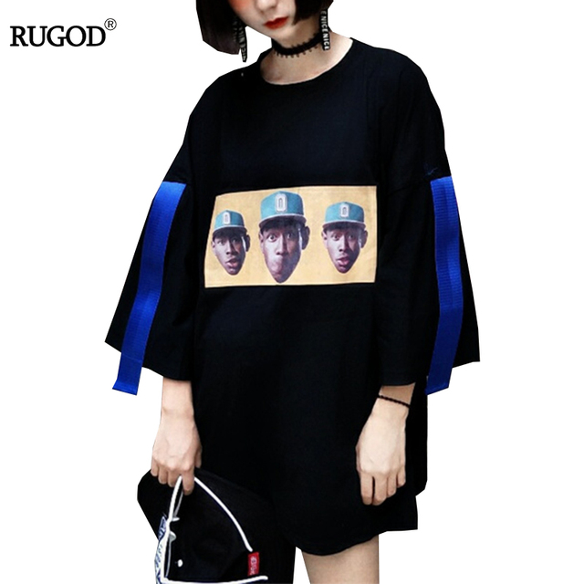 7590f699f6f RUGOD Bts Korean Style T Shirt Cartoon Soldier Funny T-shirt Women Tops  Summer Rock