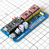 EleksMaker Mana SE USB CNC 2 Axis Stepper Motor Controller Board Mainboard DIY Laser Engraver Engraving