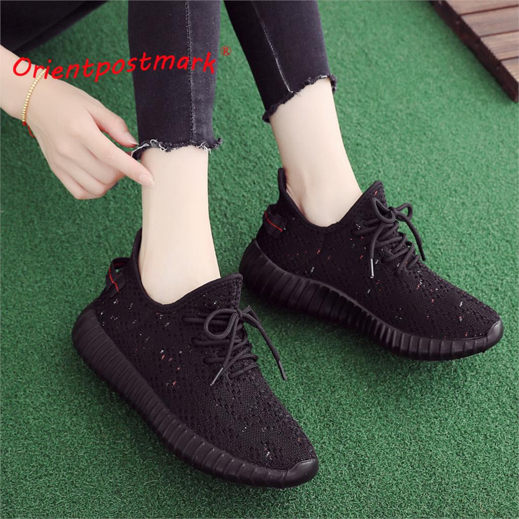 Women Flats Shoes Sneakers Unisex Couples New Casual Autumn Spring Walking Breathable