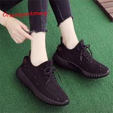 hot deal buy women flats shoes sneakers unisex couples new casual shoes autumn spring flats women walking women flats sneakers breathable