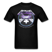 METALLICA Master Of Puppets Heavy Metal Rock T Shirt Men And Women Cotton Printing Tee Big