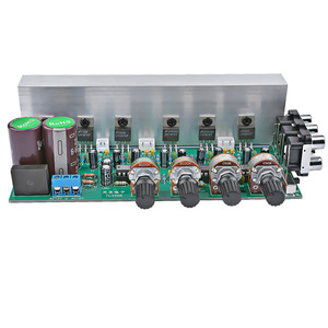 Image 3 - AIYIMA LM1875 5.1 Channel Audio Amplifier Board Subwoofer Amplifiers DIY Sound System Speaker Home Theater 25W*6 Super TDA2030
