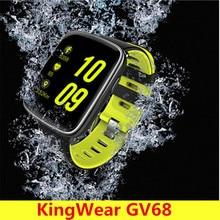 KingWear GV68 Smartwatch IP68 Waterproof Bluetooth 4 0 Heart Rate Monitor Smart Watch Remote Camera Pedometer