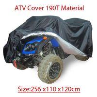 Large Rain WaterProof Cover For Quad Bike ATV ATC Size 256x110x120cm Black New