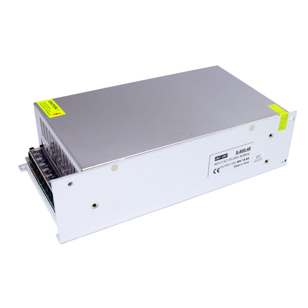 Jameco Reliapro GM95-480200-F 48 Volt DC 2 Amp 96 Watt Regulated Switching Table Top Power Supply 2.5mm Plug