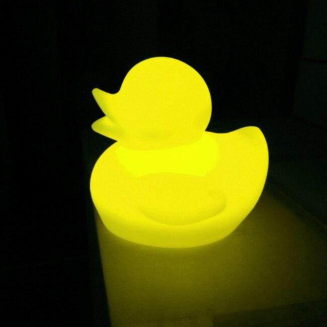 СВЕТОДИОДНЫЙ ночник в виде животных Форма лампы белый и желтый свет ночной Светильник для украшение детской комнаты домашний ночной Светил... - 6
