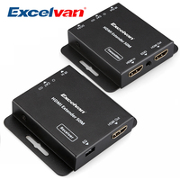 HDV E50C HD 1080P HDMI Extender Over Single 50m/164ft UTP Cables With IR Control Support HDMI and HDCP Compliant Devices