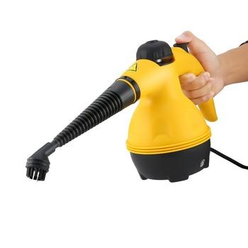 Elektryczne parowe Cleaner przenośny ręczny parowiec domowe domowe pomieszczenie biurowe urządzenia czyszczące załączniki pędzel kuchenny tanie i dobre opinie ICOCO CN (pochodzenie) 1000W 220-240 v Electric Steam Cleaner Odkurzacz parowy Handheld 20-25 minut EU Plug yellow black