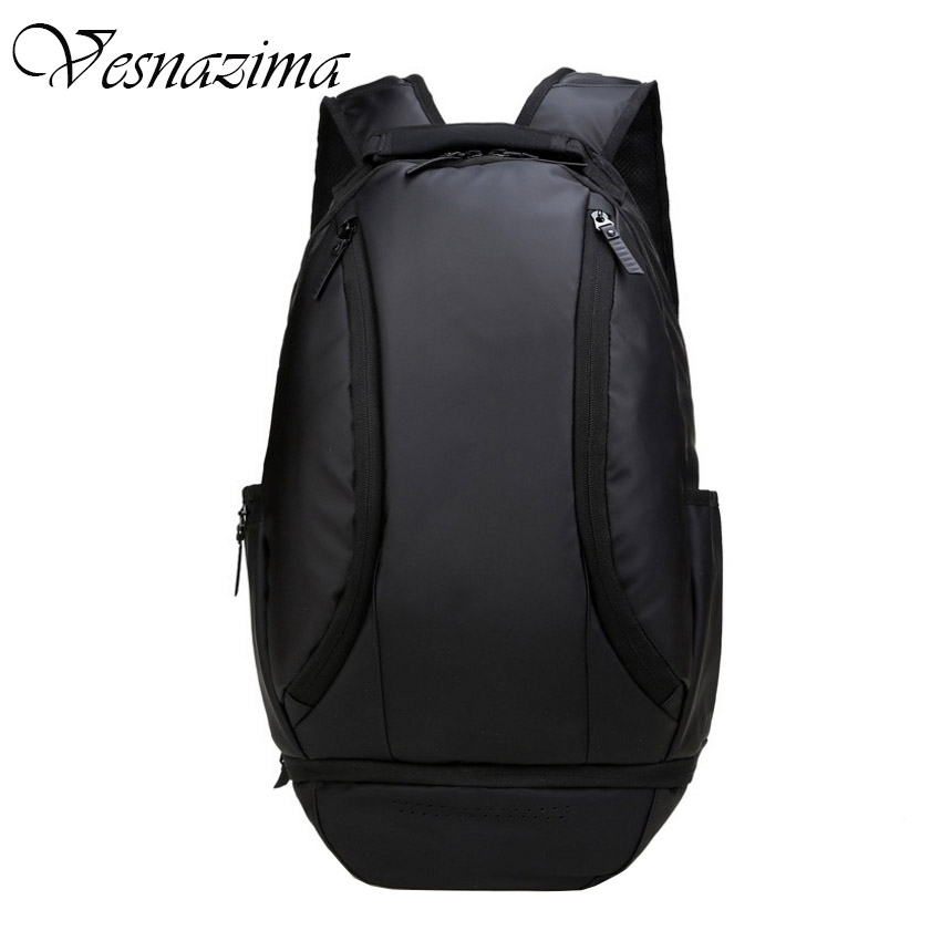 VESNAZIMA men backpacks black travel bag school bags for boys fashion  working backpack classic rucksack rugzak oval daily packs on Aliexpress.com   fba9d50b5a816