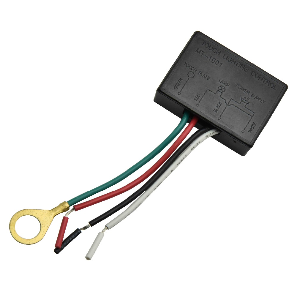110V lamp Touch Switch 3 Different Bright Table Lamp Control Sensor Switch Lightning Protection and Interference Dimmer 1PC альбом для рисования 40л а4 эксмо серия яркая мозаика на склейке