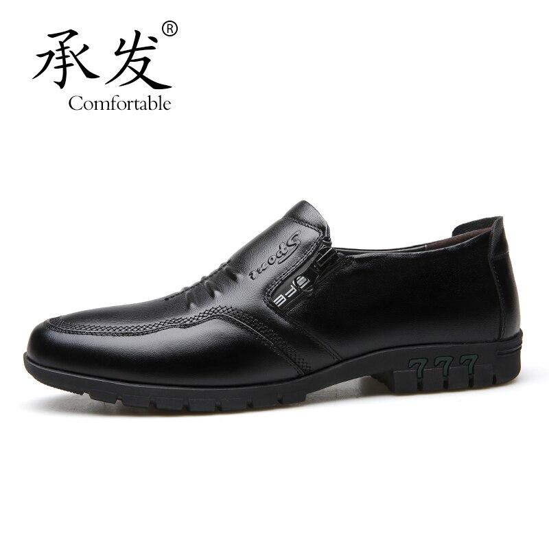 Casual Peau Véritable Cuir Doux Mocassins Hommes De En Antidérapant Vente brown Chaussures Black Semelles Vache 18Pq1gHw