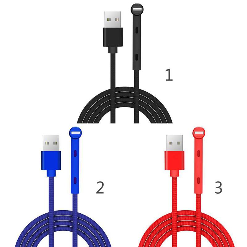 2-in-1 Type-C Data Cable with Stand Support Multiple Interfaces for iphone Lightning USB Micro USB Fast Charging