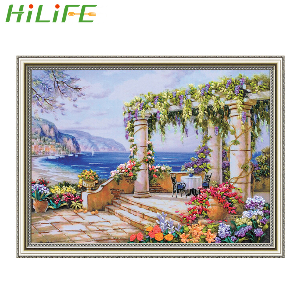 Cross-stitch Home & Garden The Girl With Bowknot Decor Painting Counted Printed On Canvas Dmc 14ct 11ct Chinese Cross Stitch Needlework Sets Embroider Kits Punctual Timing