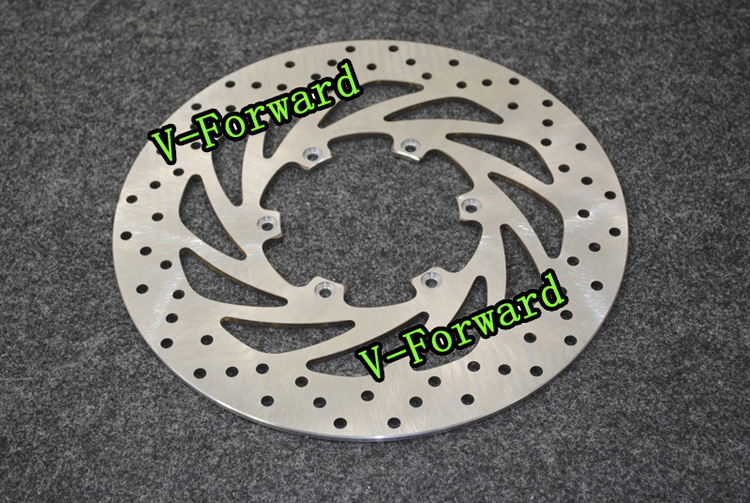 Motorcycle Front Brake Disc Rotors For F650 F650 CS 93-07 Universel motorcycle rear brake disc rotors for gtr 1000 86 93 universel