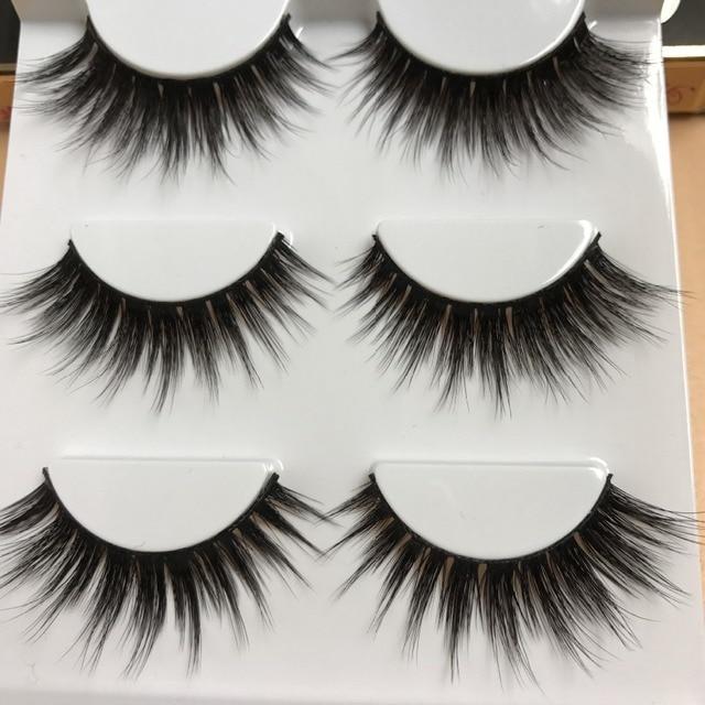 Sexy 100% handmade 3d mink włosów beauty gruby długo fałszywe rzęsy norek fałszywe rzęs eye lashes wysokiej jakości