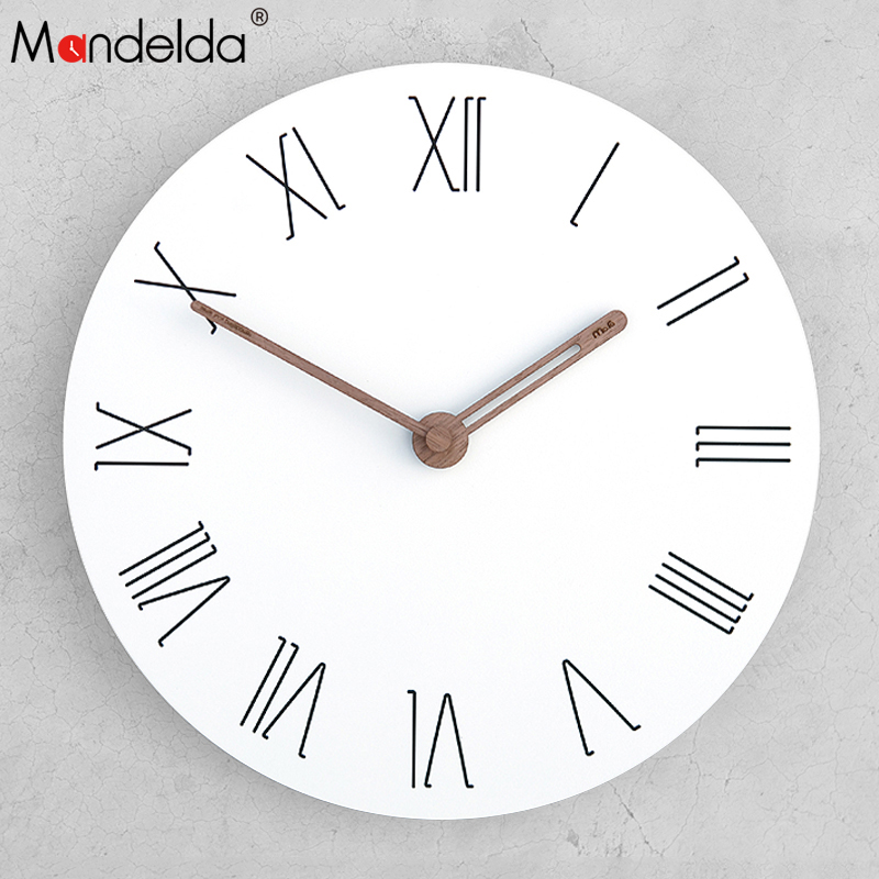 Factory Wholesale Wall Clocks Home Decor Modern Creative Silent Living Room Clock Watch with Low Price in Wall Clocks from Home Garden